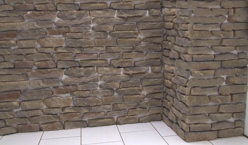 Poser des plaquettes de parement wikifab for Plaquette de parement pose
