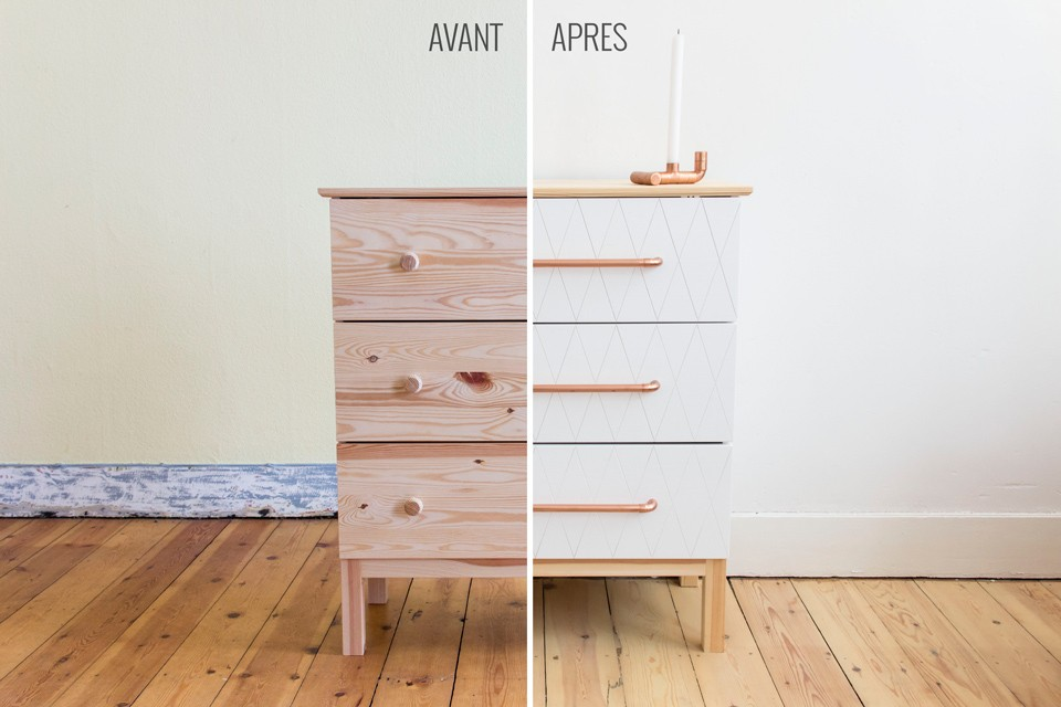 Ikea Hack Tarva Chest Of 3 Drawers In Pine Wikifab