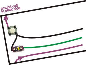 Turn signal biking jacket Step 01c.jpg