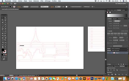 L'Etagère Skyline by Cutter Design etape1essai.jpg