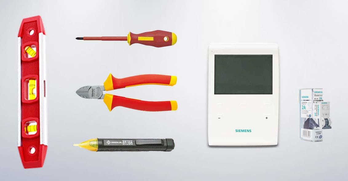 Raccorder un radiateur électrique à un programmateur fil pilote materiel-necessaire.jpg